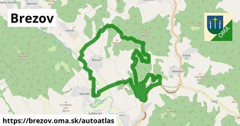 ikona Mapa autoatlas  brezov