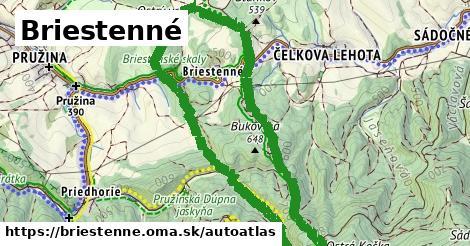 ikona Mapa autoatlas  briestenne