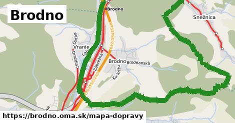 ikona Brodno: 82km trás mapa-dopravy v brodno