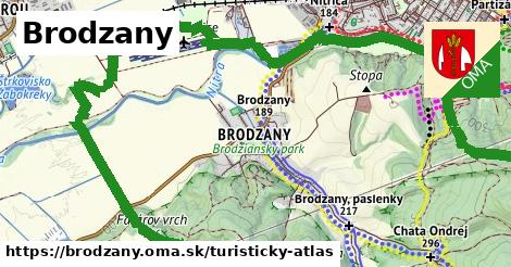 ikona Turistická mapa turisticky-atlas  brodzany