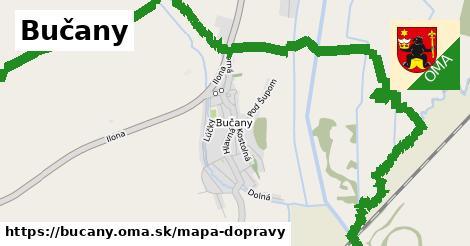 ikona Mapa dopravy mapa-dopravy  bucany