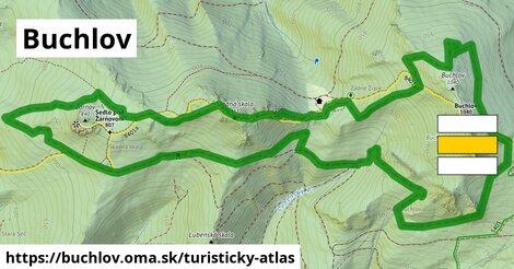 ikona Buchlov: 1,89km trás turisticky-atlas  buchlov