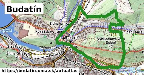 ikona Mapa autoatlas  budatin