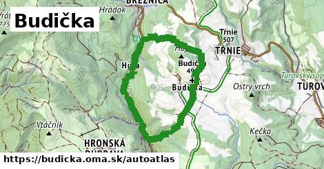 ikona Mapa autoatlas  budicka