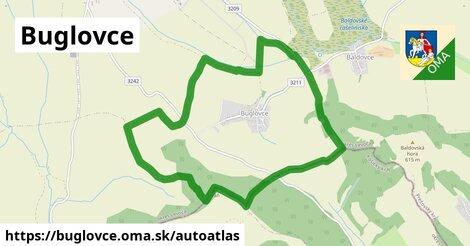 ikona Mapa autoatlas  buglovce