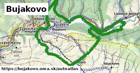 ikona Mapa autoatlas  bujakovo