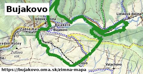 ikona Bujakovo: 0m trás zimna-mapa v bujakovo