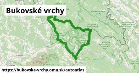 ikona Mapa autoatlas  bukovske-vrchy
