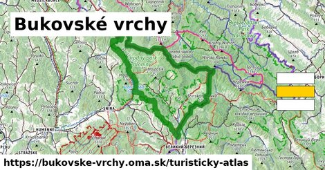 ikona Turistická mapa turisticky-atlas  bukovske-vrchy