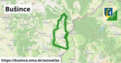 ikona Mapa autoatlas  busince