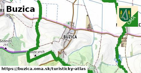 ikona Turistická mapa turisticky-atlas  buzica