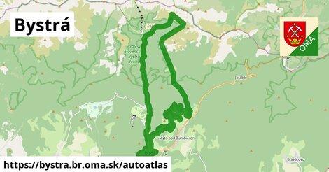 ikona Mapa autoatlas  bystra.br
