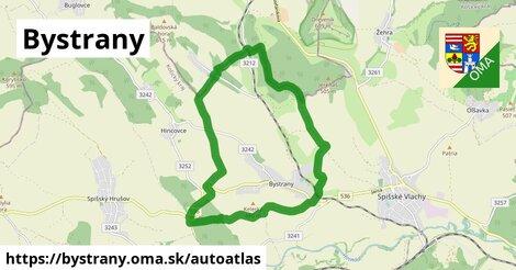 ikona Mapa autoatlas  bystrany