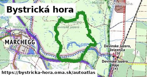 ikona Mapa autoatlas  bystricka-hora