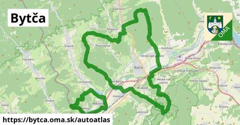 ikona Mapa autoatlas  bytca