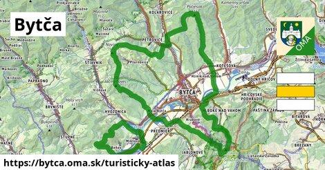 ikona Turistická mapa turisticky-atlas  bytca