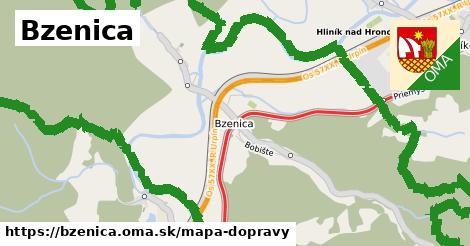 ikona Mapa dopravy mapa-dopravy  bzenica
