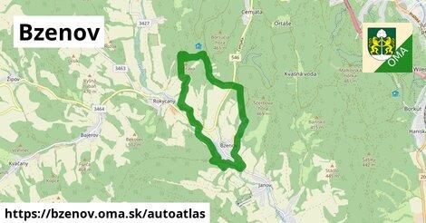 ikona Mapa autoatlas  bzenov