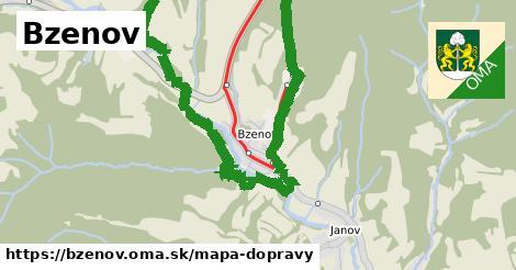 ikona Mapa dopravy mapa-dopravy v bzenov
