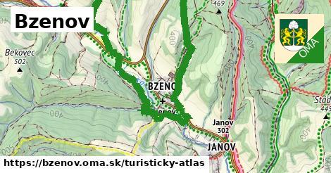 ikona Turistická mapa turisticky-atlas v bzenov