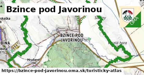 ikona Turistická mapa turisticky-atlas  bzince-pod-javorinou