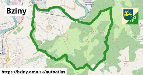 ikona Mapa autoatlas  bziny