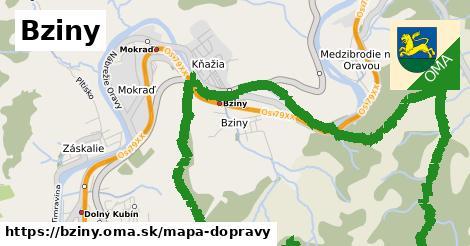 ikona Mapa dopravy mapa-dopravy  bziny