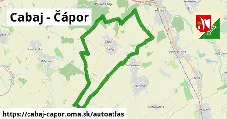 ikona Mapa autoatlas  cabaj-capor