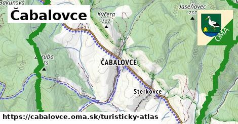 ikona Turistická mapa turisticky-atlas  cabalovce