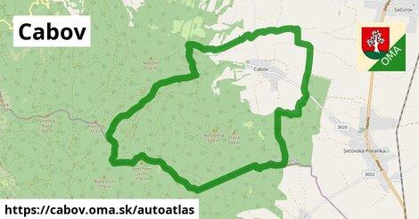 ikona Mapa autoatlas  cabov