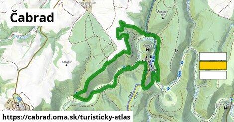 ikona Turistická mapa turisticky-atlas  cabrad