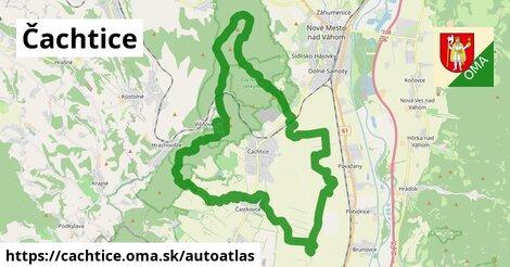 ikona Mapa autoatlas  cachtice