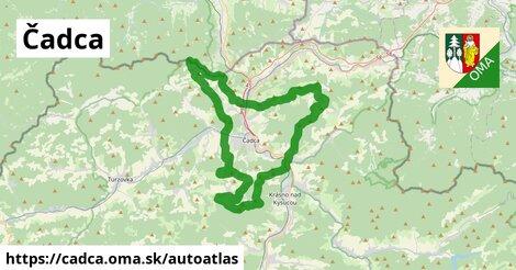 ikona Mapa autoatlas  cadca