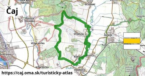 ikona Turistická mapa turisticky-atlas  caj