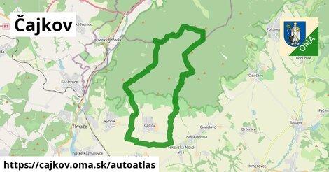 ikona Mapa autoatlas  cajkov