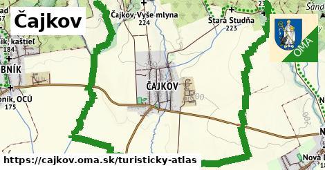 ikona Turistická mapa turisticky-atlas  cajkov