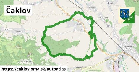 ikona Mapa autoatlas  caklov