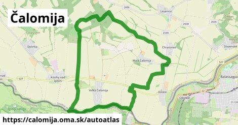 ikona Mapa autoatlas  calomija