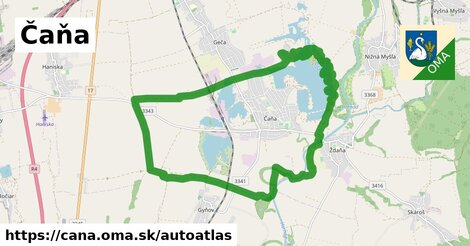 ikona Mapa autoatlas v cana