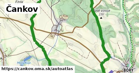 ikona Mapa autoatlas  cankov