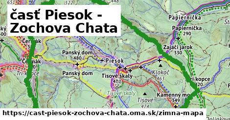 ikona Zimná mapa zimna-mapa  cast-piesok-zochova-chata