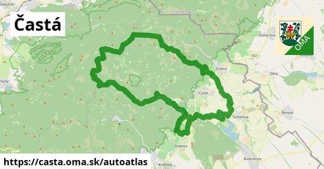 ikona Mapa autoatlas  casta