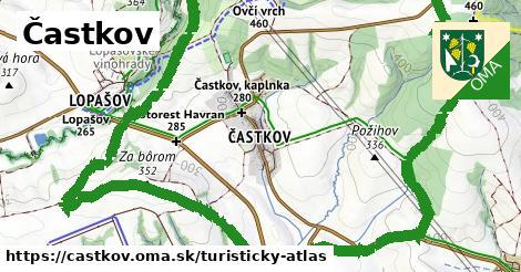 ikona Turistická mapa turisticky-atlas  castkov