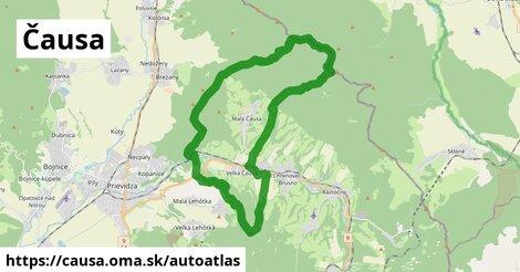 ikona Mapa autoatlas  causa