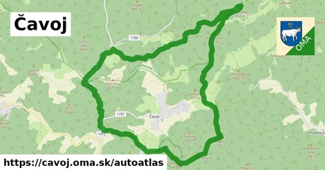 ikona Mapa autoatlas  cavoj