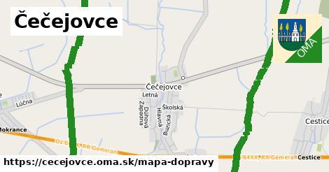ikona Mapa dopravy mapa-dopravy  cecejovce