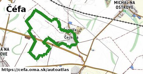 ikona Mapa autoatlas  cefa