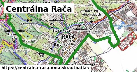 ikona Mapa autoatlas  centralna-raca