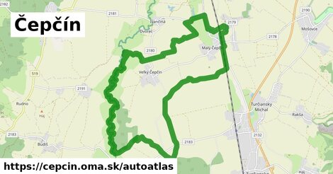 ikona Mapa autoatlas  cepcin