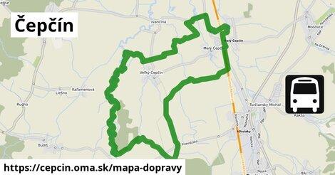 ikona Mapa dopravy mapa-dopravy  cepcin
